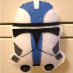 star wars christmas ornaments clone trooper craft