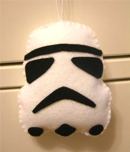 star wars christmas ornaments stormtrooper craft