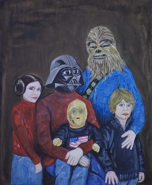 star wars family art steven quinn