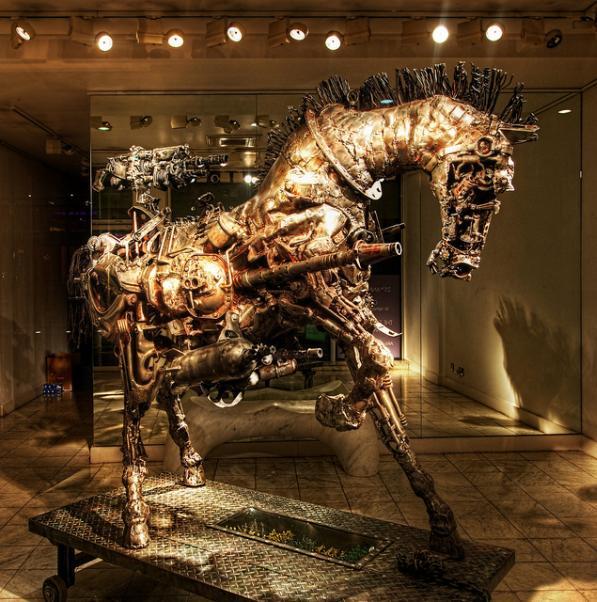 steampunk horse design