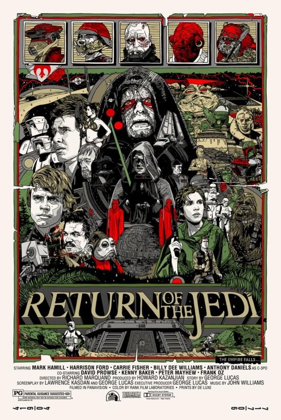 Tyler Stout's Return of the Jedi