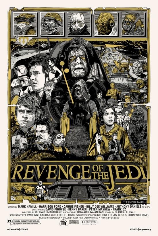 Tyler Stout's Revenge of the Jedi
