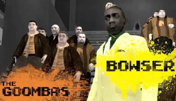 super mario bros movie gta bowser goombas