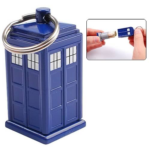 top gadgets of 2010 doctor who tardis keychain bank