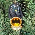 xmas ornaments batman comic