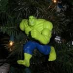 xmas ornaments hulk comic