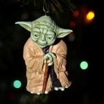 xmas ornaments star wars yoda
