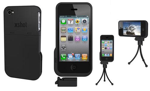 XShot iphone 4 case tripod adapter