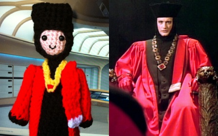 Amigurumi Li'l Trekkies Captain Picard
