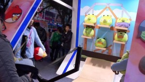Angry Birds Arcade Game Booth