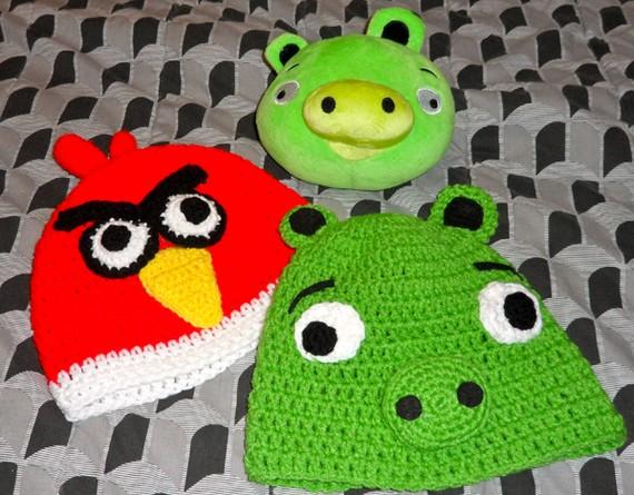 Angry Birds Beanies