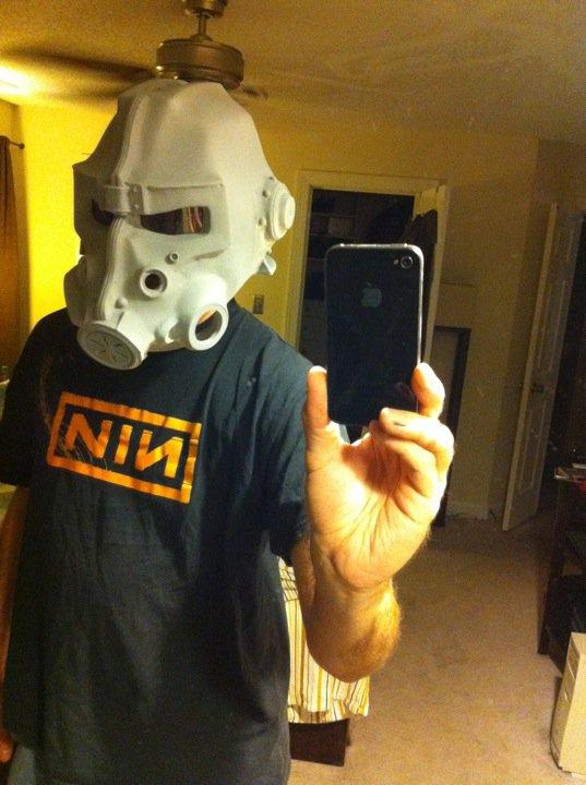 Brotherhood of Steel Helmet Early Stage