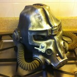 Brotherhood of Steel Helmet Final Product