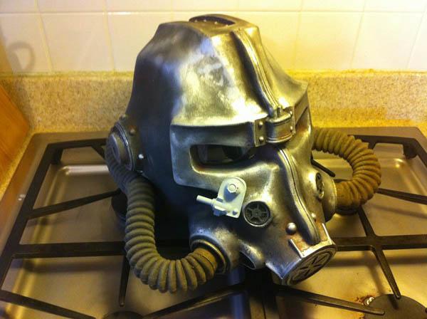 Brotherhood of Steel Helmet Final Product