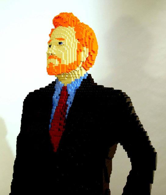 Conan Lego Left