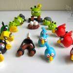Edible Angry Birds Toppers 1