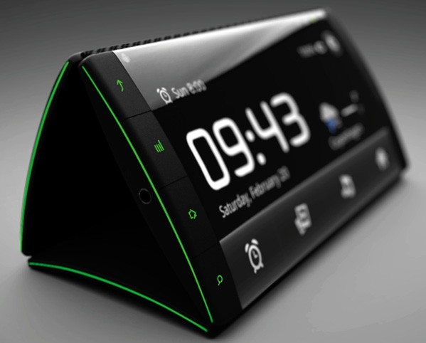 Flip Phone Alarm Clock