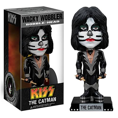 KISS Peter Kriss Bobble Head