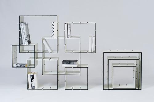 Konnex Interlocking Bookshelves 1