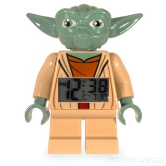 Lego Minifig Yoda Clock Back