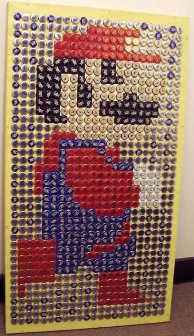 Mario Bottle Cap
