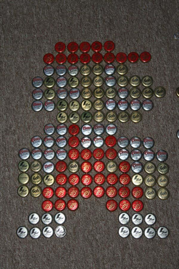 Mario 3 Bottle Cap