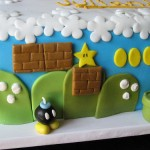 Mario Brothers Cake Bomb omb