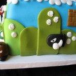 Mario Brothers Cake Goomba