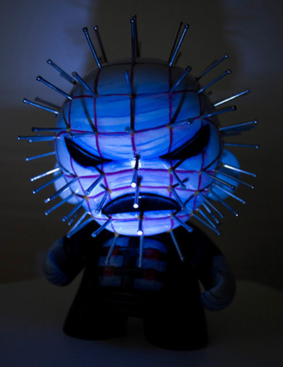 Pinhead close up