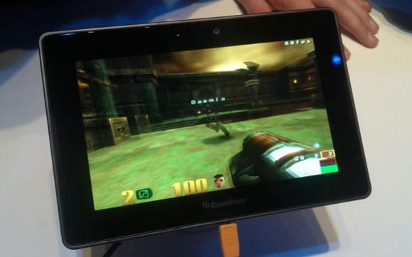 Quake 3 on BlackBerry Playbook
