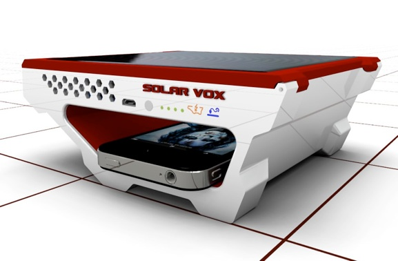 Solar Vox USB Charger Front