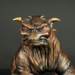 Single Terror Dog Sculpture 1