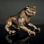 Single Terror Dog Sculpture 3
