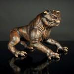 Single Terror Dog Sculpture 3
