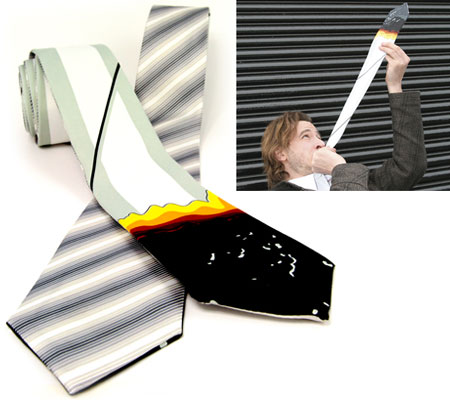 Smoking Reversible Tie