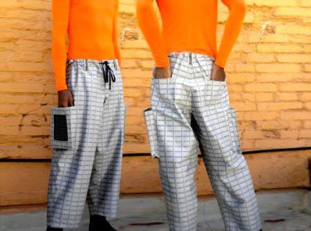 Solar Powered Pants