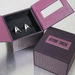 Star Trek Cuff Links Box