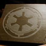 Star Wars Imperial Logo Slate Coasters