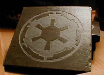 Star Wars Imperial Logo Slate Coasters