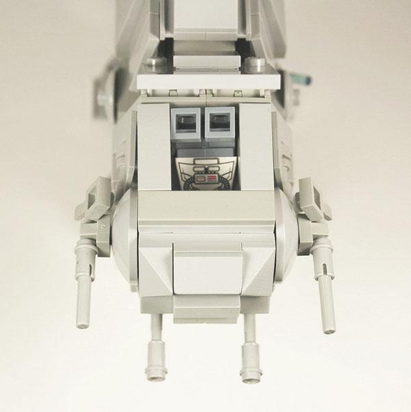 Star Wars LEGO AT-AT Cockpit