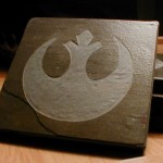 Star Wars Rebel Logo Slate Coasters