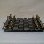 Steel and Bullet Chess Set 1
