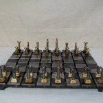 Steel and Bullet Chess Set 2