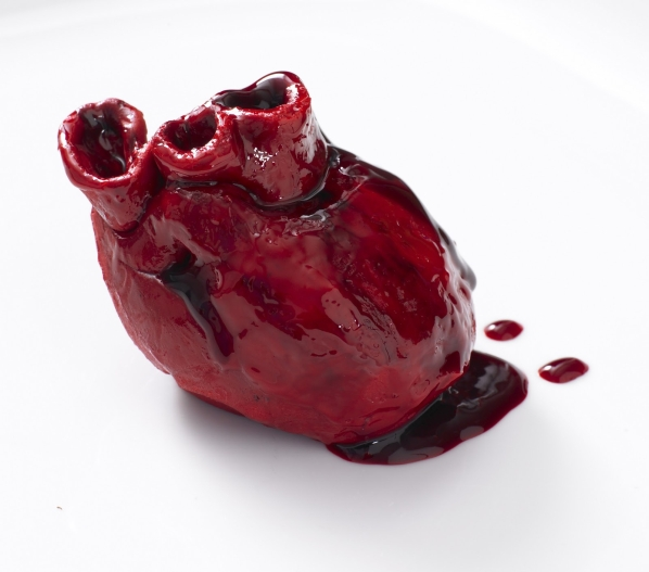 Valentine's Bleeding Heart Cake 1