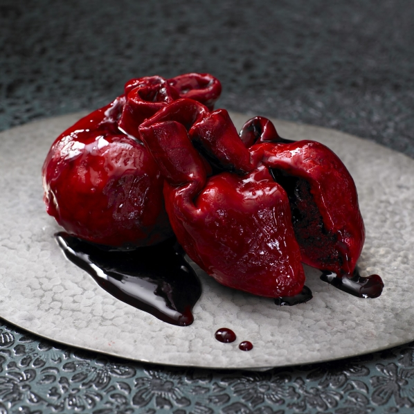 Valentine's Bleeding Heart Cake 2