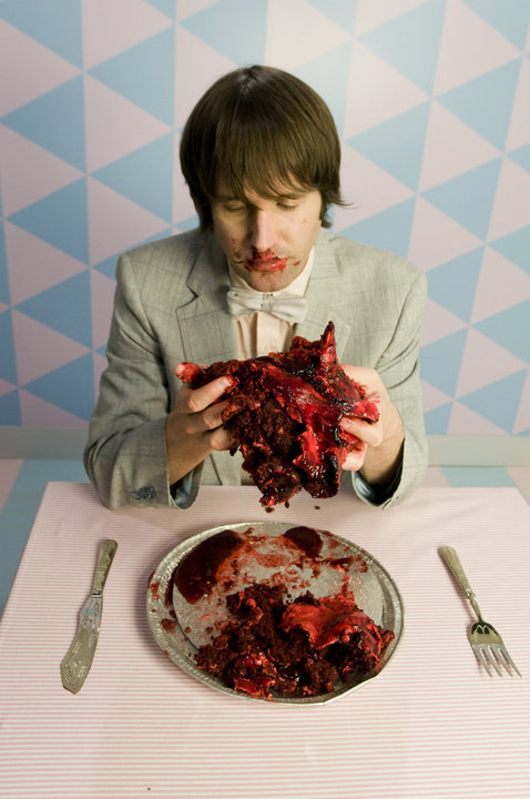 Valentine's Bleeding Heart Cake 1