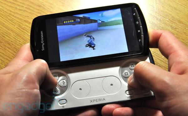 Xperia Play Emulating Tony Hawk Pro Skater 4