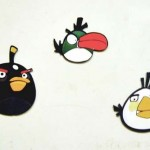 angry birds black green white