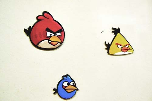 angry birds magnet