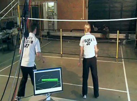 badminton robot